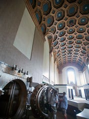 The main room with the open vault. Paul Kuehnel - York Daily Record/ Sunday News