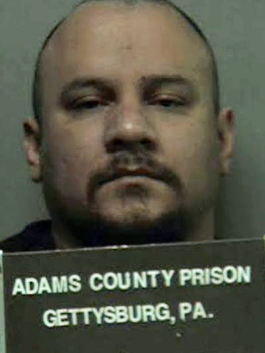 Joseph Sanchez, who is being held in Adams County Prison, from the prison.