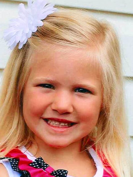 Elise Myers: Daughter of Allison and David Myers of Hanover, and granddaughter of Robin and Len Bosse of Hanover, Janet and Thomas Myers of New Oxford, and Edward Phelps of Grantville, turns 5 on Sept. 22.