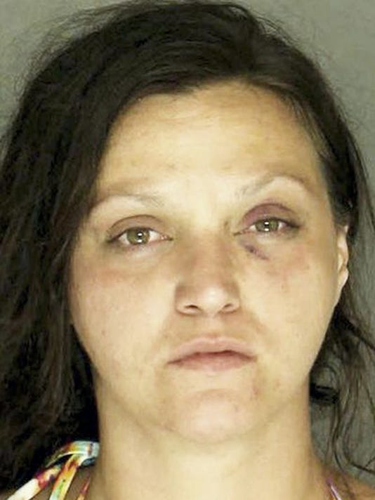 Brandi Firth was charged with endangering the welfare of children. Submitted