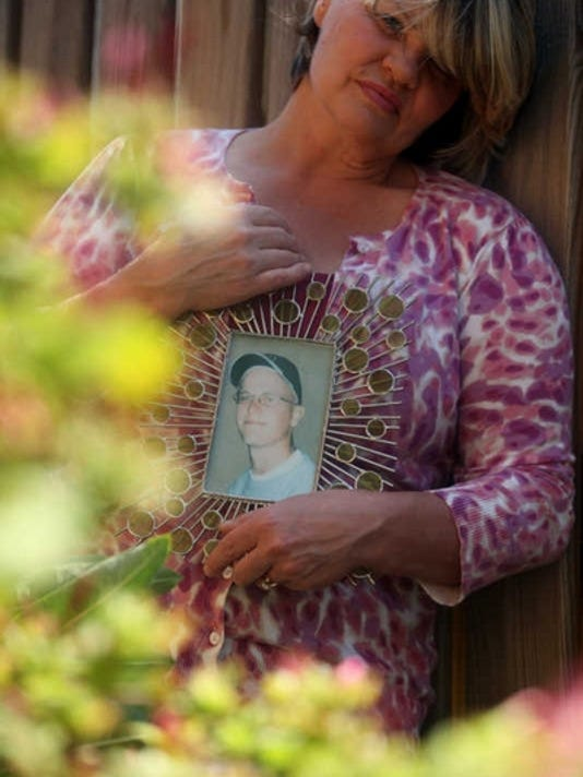 Kathryn Baringer's youngest son, Joshua Joseph Blake, killed himself five years ago.