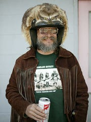 """""""Bearfoot"""" Brad Camden has been a shuttle driver on the Smith River for 30 years."""