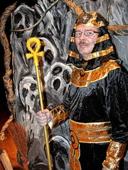 """DJ Winderweedle as Ramses from Anne Rice's 1989 horror novel """"The Mummy."""""""
