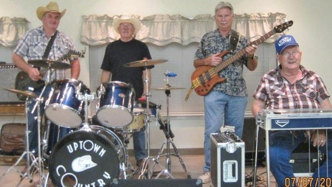 Uptown Country will be playing Friday night at the Mountain Home VFW.