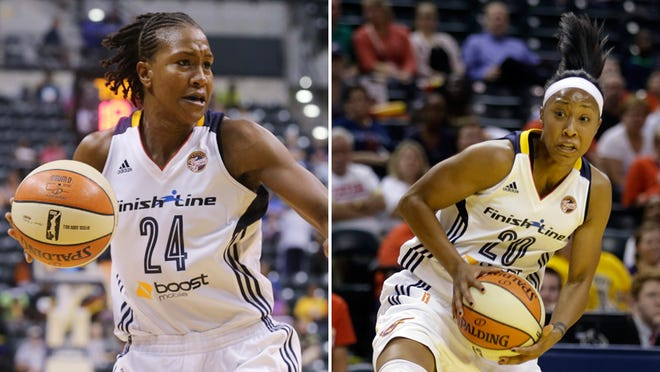 Fever's Tamika Catchings and Briann January were invited to USA Basketball training camp.