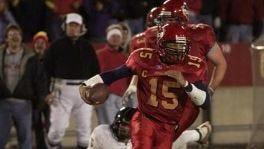 Seneca Wallace's run against Texas Tech in 2002 powered the Cyclones to a No. 9 ranking.