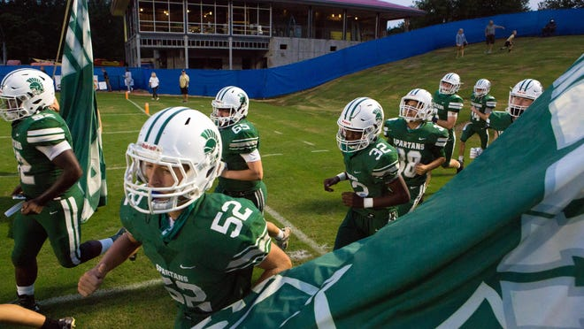 Athens Academy faces Class 7A Berkmar on Friday night.