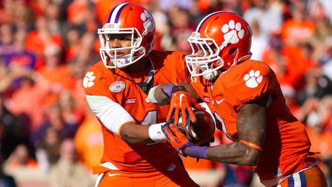 Clemson is 8-0 on the season and ranked No. 1 in the College Football Playoff rankings.