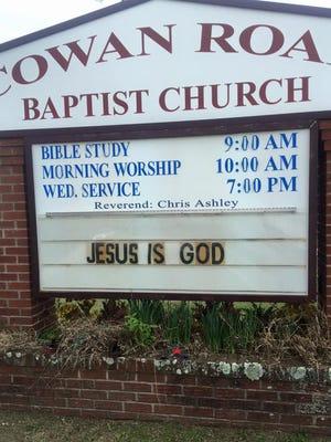 Cowan Road Baptist Church in Gulfport, Miss.