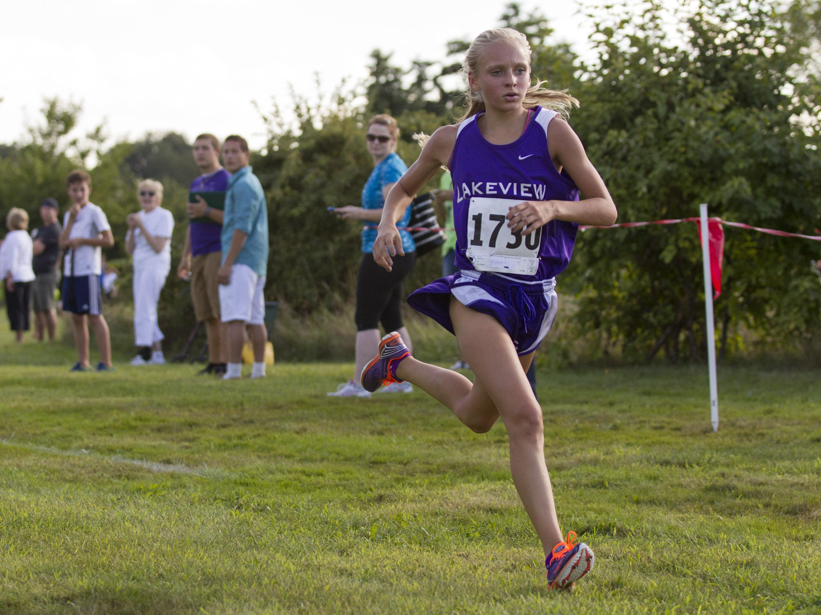 The All-City cross country race is Wednesday at Harper Creek.