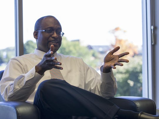 Evon Walters, hired last year as president of Miller College, resigned effective last Friday.