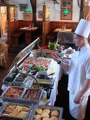 The Black Horse Pub in Mendham will host buffet brunch on Easter Sunday.