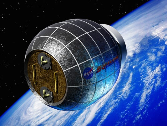 AP SPACE STATION-INFLATABLE MODULE A SCI