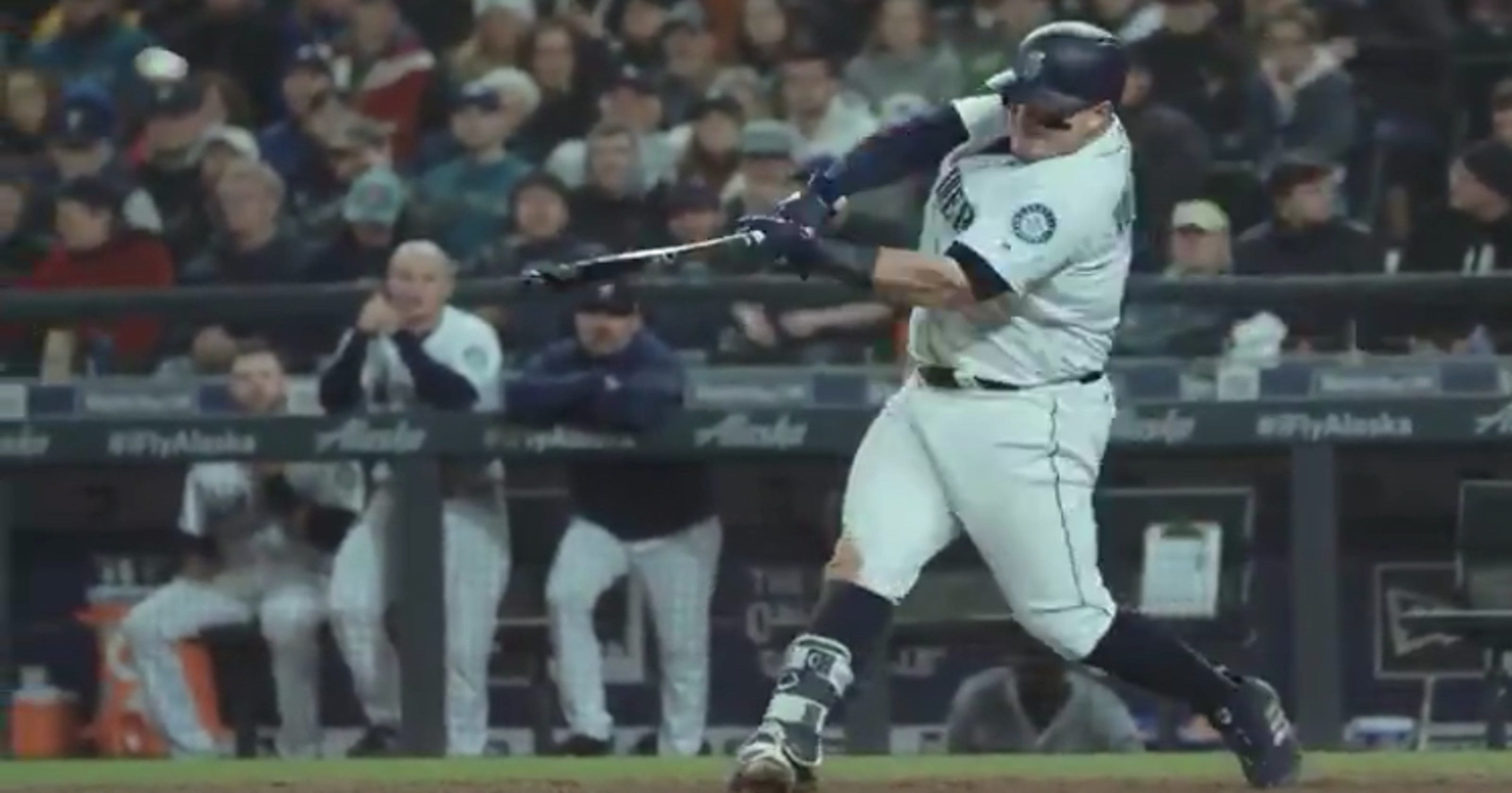new product bede9 67418 Daniel Vogelbach hits second Major League homer day after ...