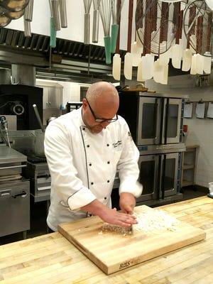 Chef Douglas Walls at the Billy Graham Training Center.