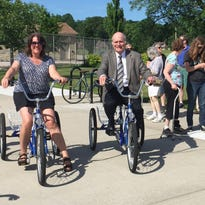 Tosa first in state to install adaptive bike-sharing station