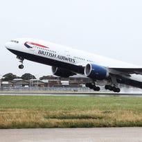 Austin rolls out red carpet for British Airways' Dreamliner