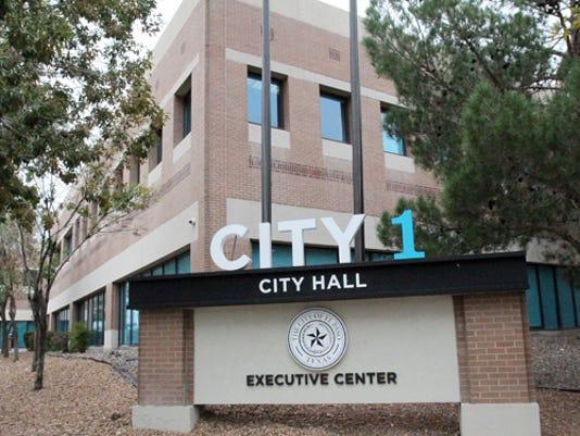 Rudy Gutierrez El Paso Times City 1 at 300 N. Campbell.
