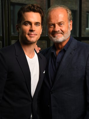 Kelsey Grammer, right, and Matt Bomer star in Amazon's adaptation of F. Scott Fitzgerald's unfinished novel 'The Last Tycoon.'