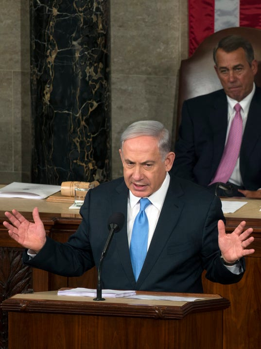 netanyahu congress ross