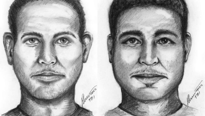 A Tennessee Bureau of Investigation agent drew this composite sketch of an Aug. 4 rape suspect who may match the description of another rape suspect from a July 20 sexual assault.