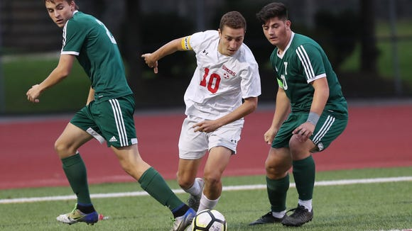 Somers defeated Yorktown 1-0 in overtime during boys