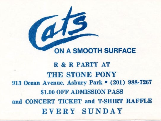 Cats on a Smooth Surface ticket
