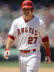Los Angeles Angels' Mike Trout is considered perhaps the best player in the game currently.