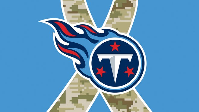 Tennessee Titans support Wounded Warriors