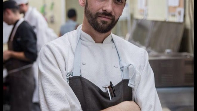 Chef Clark Barlowe, of Heirloom Restaurant in Charlotte, North Carolina, will cook at Roast and Toast as well as at the 11th annual Euphoria festival.