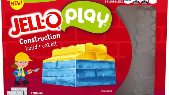Jell-O Play construction kit.
