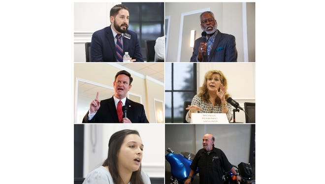 Candidates for Tallahassee Mayor in 2018.