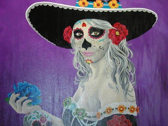 Restaurant owner Adriana Ortega was the model used