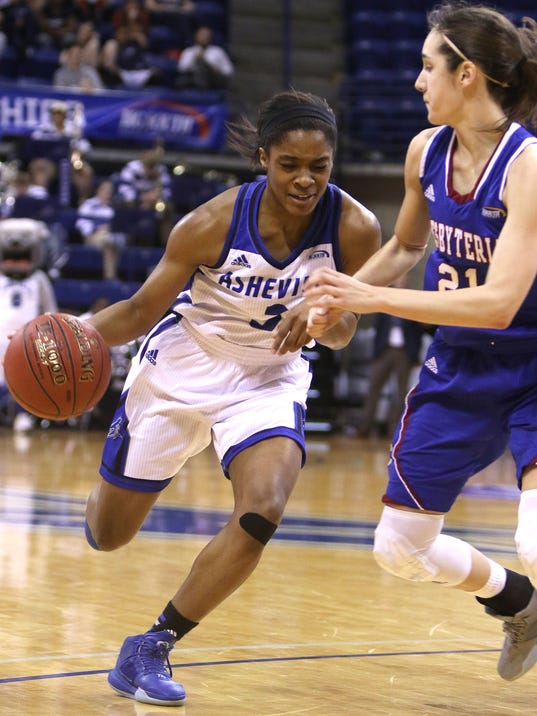 2016 Presbyterian College at UNCA Women's Big South Semifinals