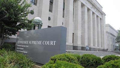 Tennessee Supreme Court building in Nashville.