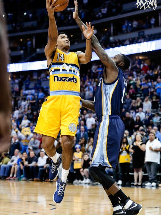 NBA: Memphis Grizzlies at Denver Nuggets