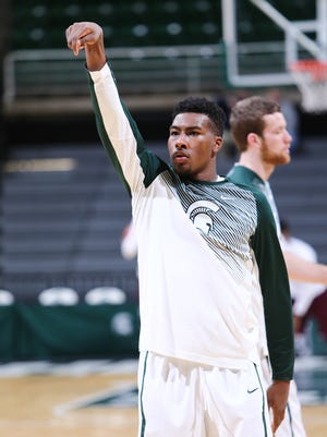 Michigan State basketball coach Tom Izzo said that freshman Javon Bess might be done for the season due to a foot injury.