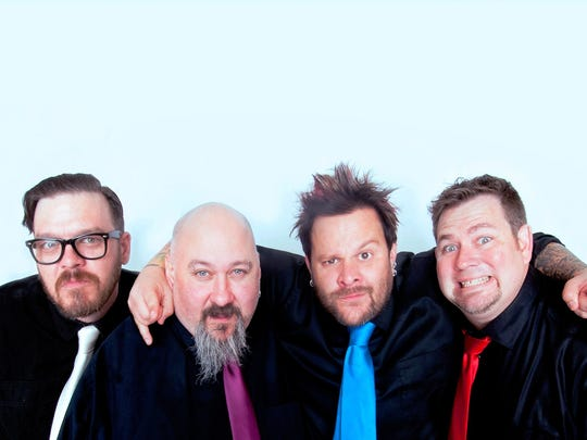 Grammy-nominated band Bowling for Soup, a Wichita Falls band now based in Denton, will headline the St. Patrick's Day Downtown Street Festival March 11.