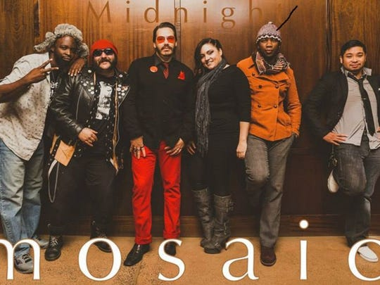 Midnight Mosaic will open for George Clinton & Parliament
