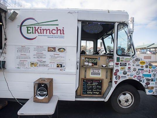 Kimchi Quesadilla Food Truck