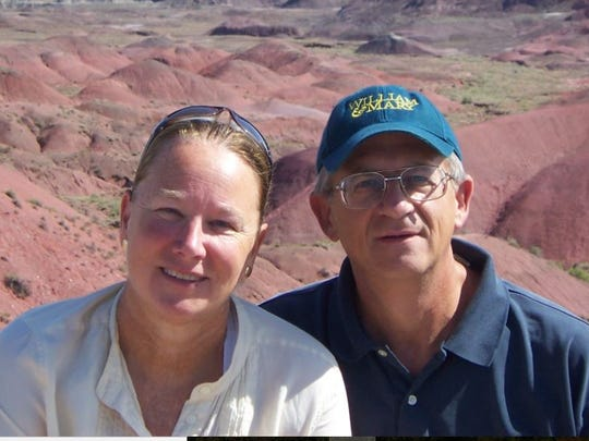 Susan and William Schmeirer were on their way to Palm Springs when their abandoned vehicle was discovered in Amboy. Investigators found William Schmeirer remains soon after but located his wife's remains on Sunday, April 28, 2019.
