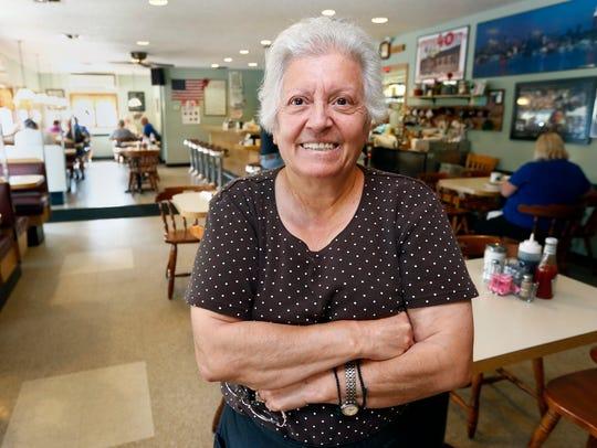 Jeanine Nicolakis, owner of Sparky's Diner in Garnerville.