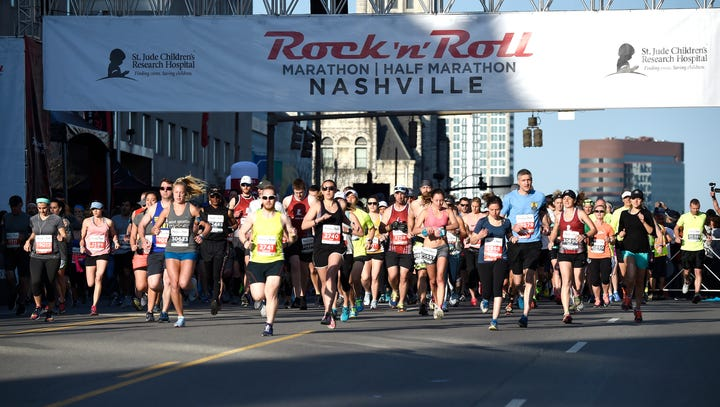 2018 Rock 'N' Roll Nashville Marathon results