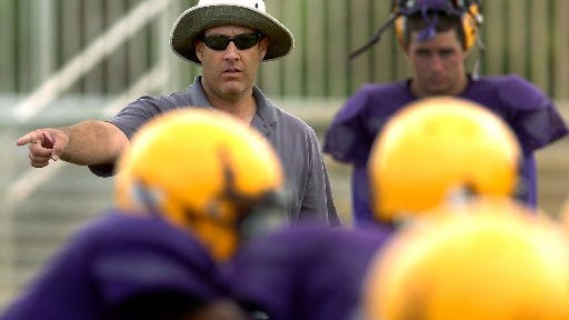 Chris Hutchings guided the Fort Pierce Central and John Carroll Catholic football teams to a combined five playoff berths in eight seasons. Named Fort Pierce Westwood's new coach, Hutching become the first football coach to guide three area programs.