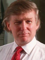 Trump, shown in 1994.
