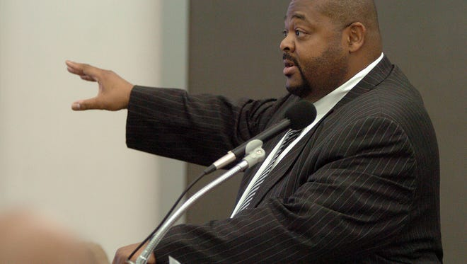 Stanley Alexander, seen here presenting his closing arguments in the trial of Elicia Hughes at the Hinds County Courthouse in Jackson, has qualified to run for district attorney.