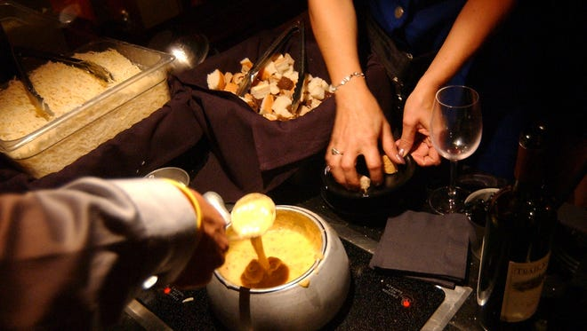 The Melting Pot has several different Valentine's Day couples dinning options.