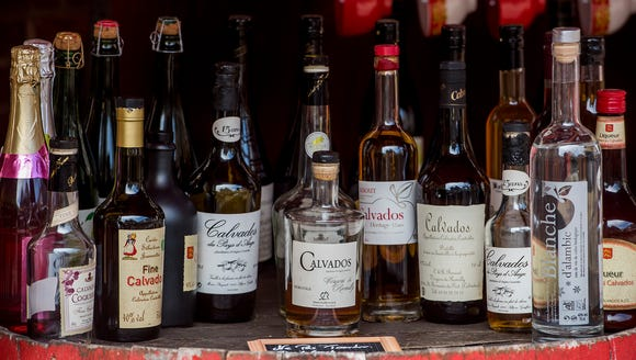 Calvados, apple brandy and the pride of Normandy.