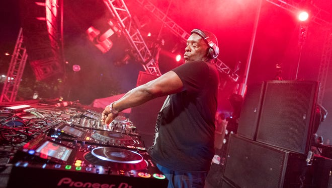 Detroit techno legend Kevin Saunderson will perform Saturday at Movement 2018 on Hart Plaza in Detroit.