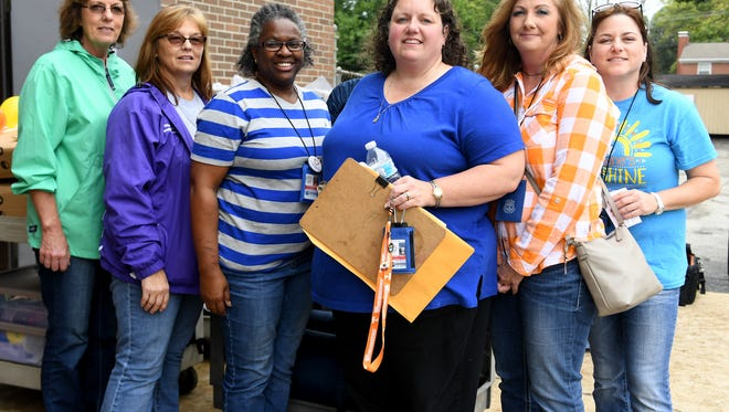 Sheila Benson, Mica Rudd, Gwen Blayde, Jennifer Cook, Kristie Threet, and Lisa Brandon are all on the TDH Nurse Strike Teams Return After Hurricane Florence Response. They returned from North Carolina, Wednesday, September 26, after volunteering to help in the recovery efforts after Hurricane Florence.